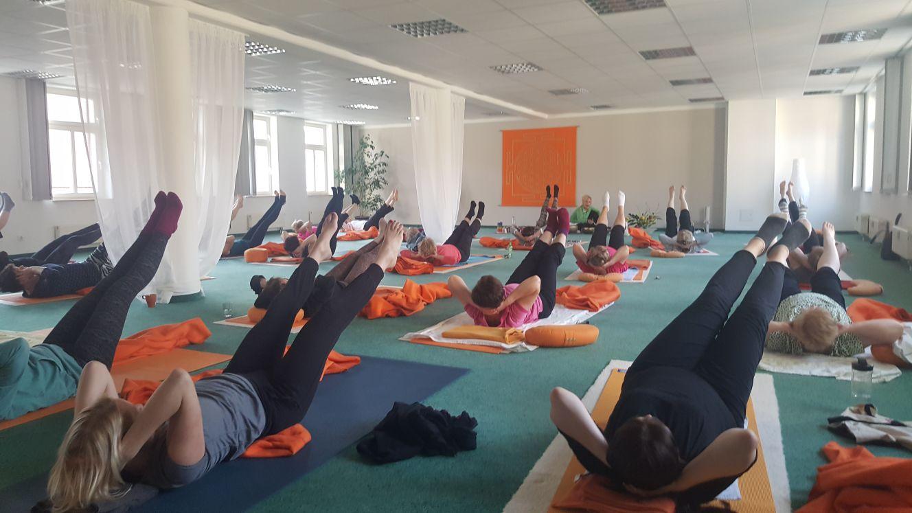 1 Jahr Yoga Vital Dohnaische Straße